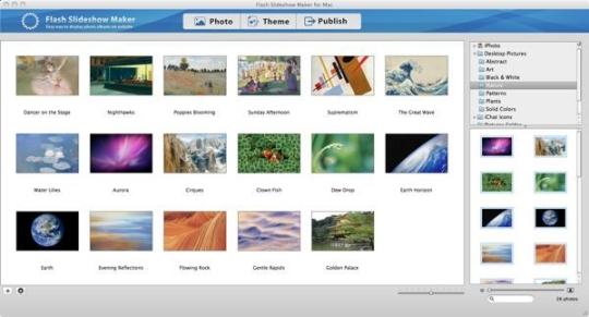 Flash Slideshow Maker (Mac)