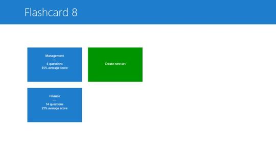 Flashcard 8  for Windows 8