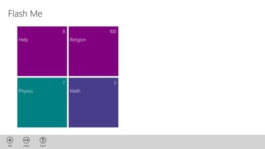 FlashMe for Windows 8