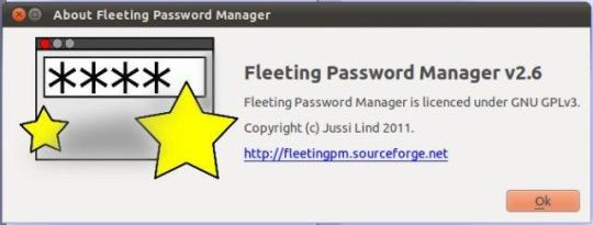 Fleeting Password Manager Portable