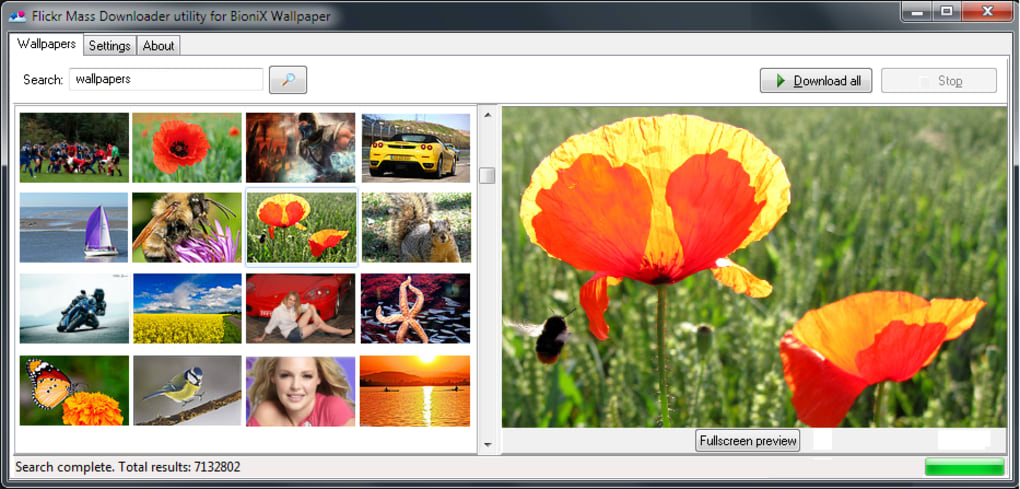 Flickr Mass Image Downloader