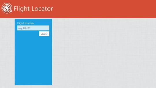 Flight Locator for Windows 8