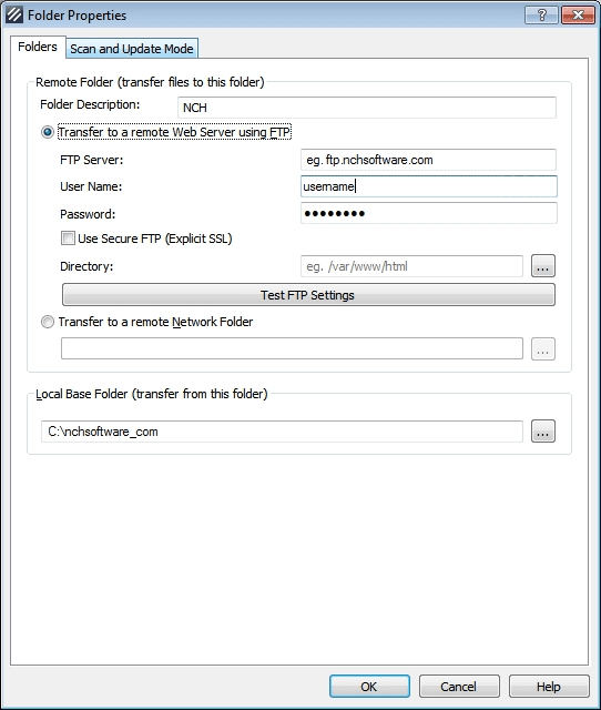 Fling FTP Uploader Software