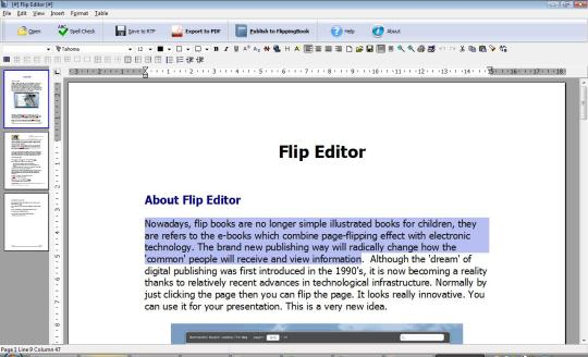 Flip Editor