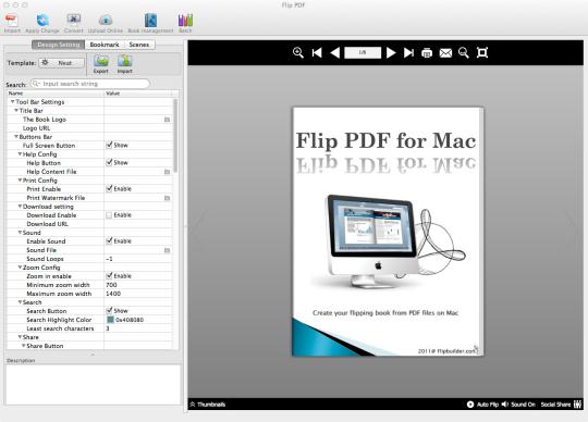 Flip PDF (Mac)