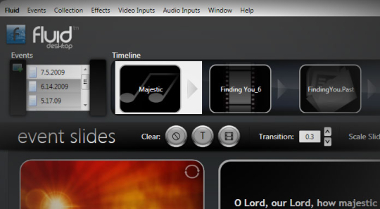 Fluid Desktop