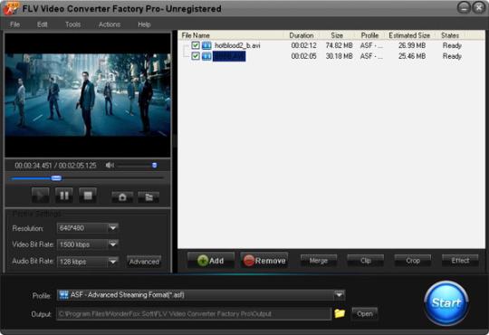 FLV Video Converter Factory Pro