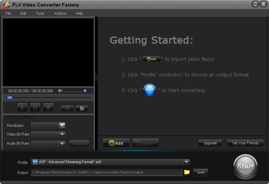 FLV Video Converter Factory