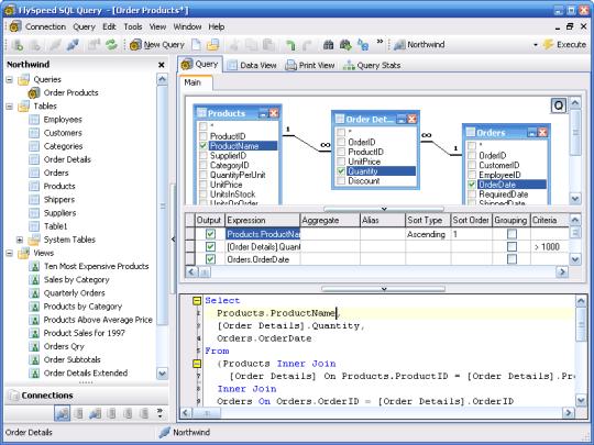 FlySpeed SQL Query