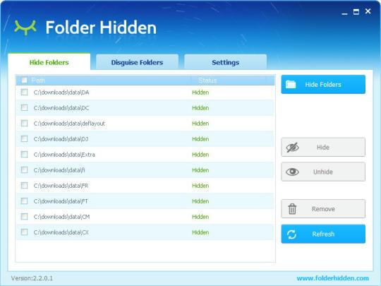 Folder Hidden