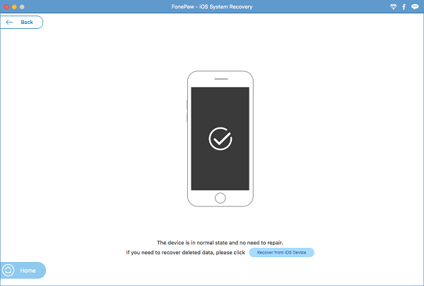 FonePaw iOS System Recovery