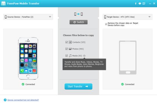 FonePaw Mobile Transfer