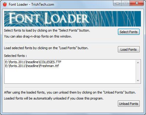 Font Loader