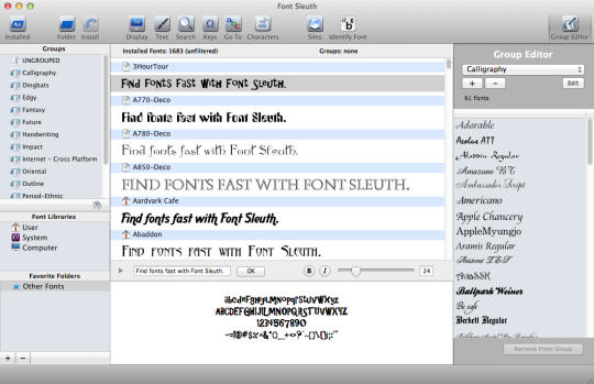 Font Sleuth