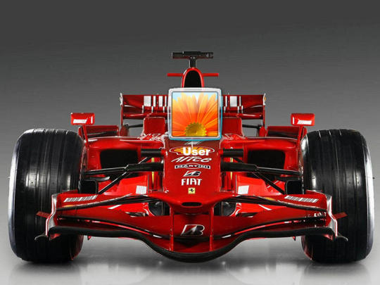 Formula 1 Logon Screen