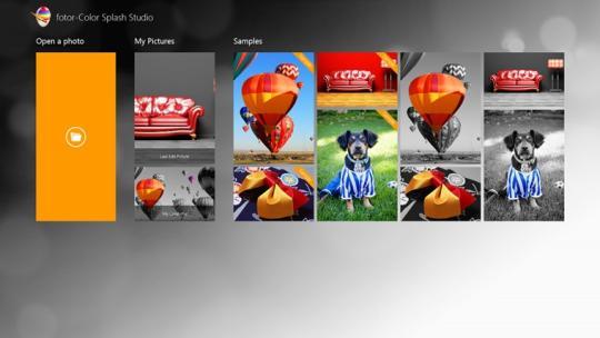 Fotor - Color Splash Studio for Windows 8