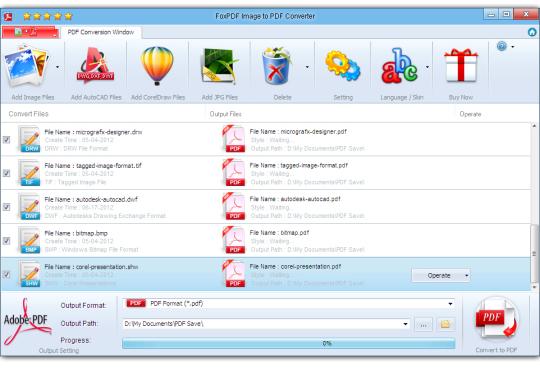 FoxPDF Image to PDF Converter