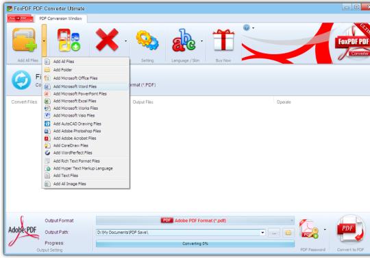FoxPDF PDF Converter Ultimate
