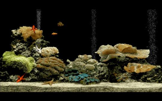 Free Aquarium Screensaver