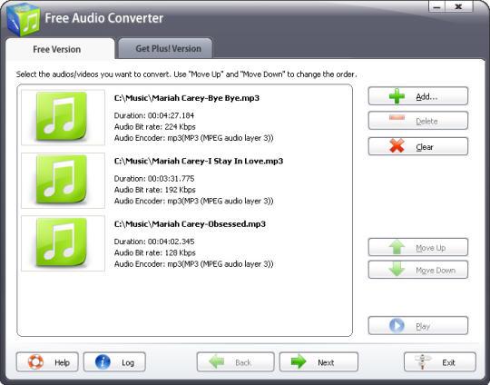 Free Audio Converter 2015
