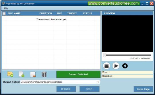 Free AVI to WMV Converter