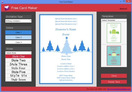 Free Card Maker
