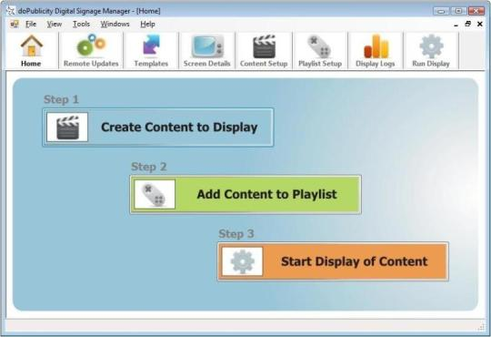 Free Digital Signage Manager Software