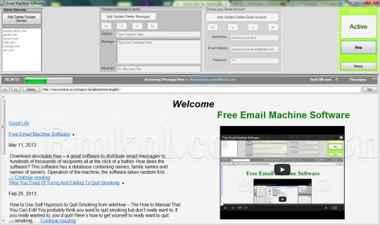 Free Email Machine Software