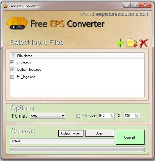 Free EPS Converter