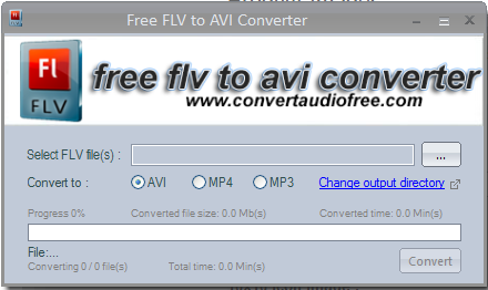 Free FLV To AVI Converter