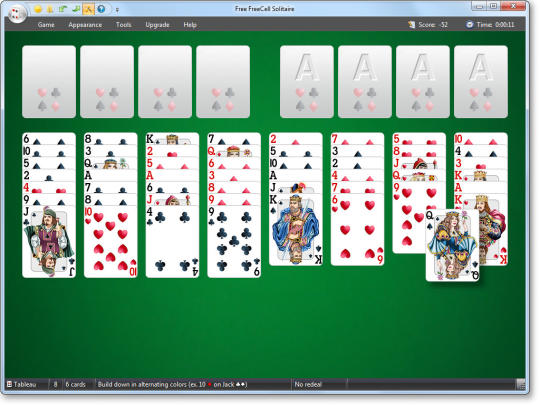 Free FreeCell Solitaire 2016
