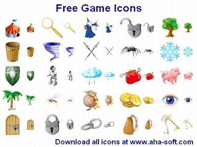 Free Game Icons 2011