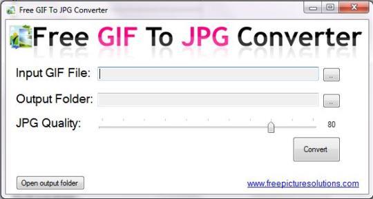 Free GIF to JPG Converter