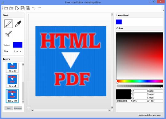 Free Icon Editor