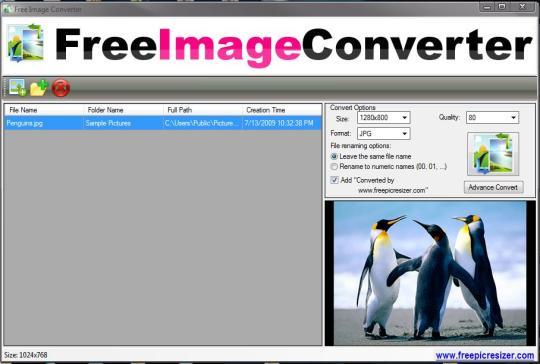 Free Image Converter