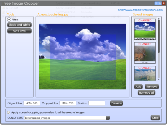 Free Image Cropper