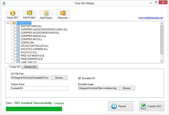 Free ISO Maker