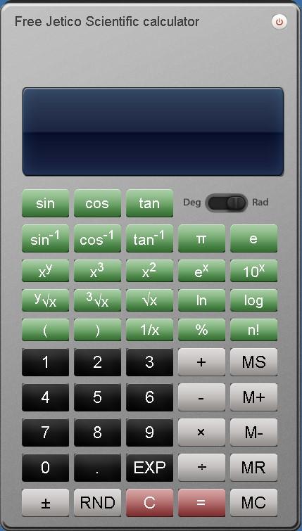 Free Jetico Scientific Calculator