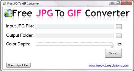 Free JPG to GIF Converter