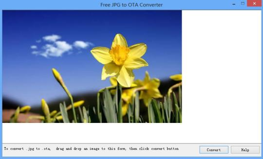 Free JPG to OTA Converter