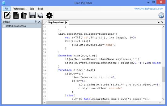Free JS Editor