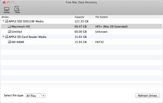 Free Mac Data Recovery