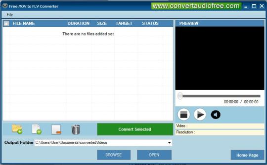 Free MOV to FLV Converter