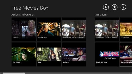 Free Movies Box (Windows 8)