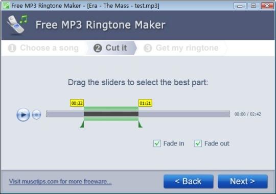 Free MP3 Ringtone Maker (Portable)