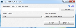 Free MP3 to FLAC Converter