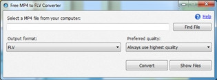 Free MP4 to FLV Converter