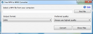 Free MP4 to WMV Converter