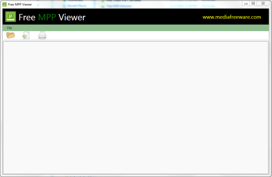 Free MPP Viewer