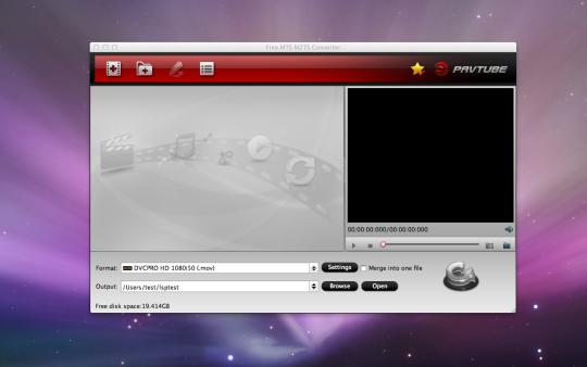 Free MTS M2TS Converter (Mac)